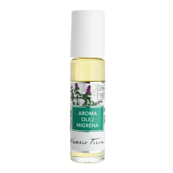 aróma olej migréna