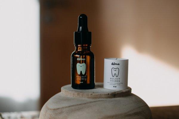 prírodný olej na bolavé zúbky