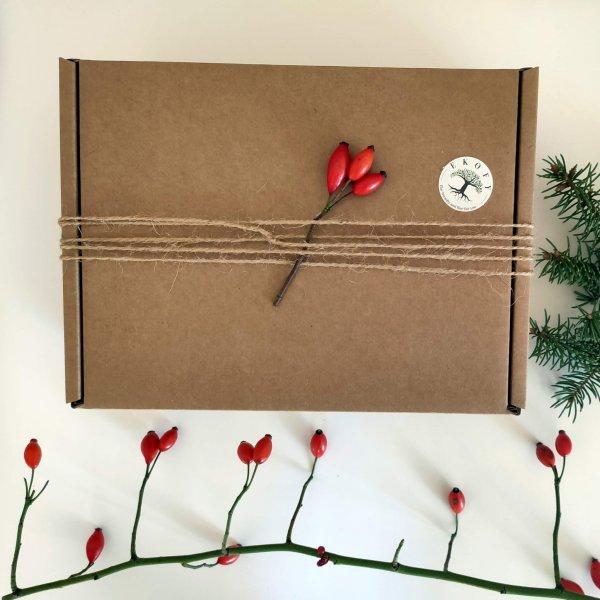 vianočný balíček prírodnej kozmetiky pre ženy